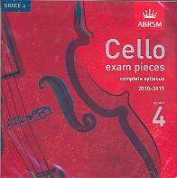 Cello Exam Pieces Grade 4 2010-2015 CD
