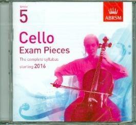 Cello Exam Pieces Grade 5 (2016) CD