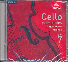 Cello Exam Pieces Grade 7 CD complete Syllabus 2010-2015