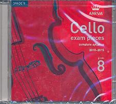 Cello exam pieces grade 8 CD complete syllabus 2010-2015