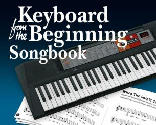 CH83160 Keyboard from the Beginning - Songbook
