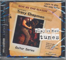 Chapman, Tracy: Tracy Chapman - Give me one Reason CD Guitar Series Song Lesson Level 3, Play it now tunes
