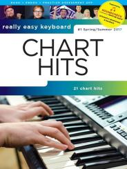 Chart Hits vol.1 - spring/summer 2017 (+Soundcheck): for really easy keyboard (with lyrics and chords)