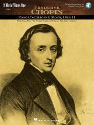 Chopin, Frédéric: Music minus one Piano (+3CD's) Piano concerto e minor op.11