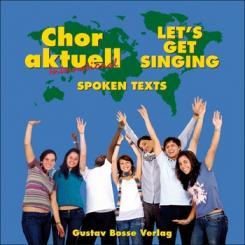 Chor aktuell international CD gesprochene Texte - Aussprachehilfe