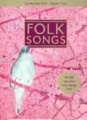 Chorbuch Folk Songs (+CD) für gem Chor a cappella, Chorleiterband (Hauptband)