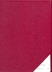 Chormappe Din A4 (22x31cm) weinrot Kunstleder mit Klarsichttasche