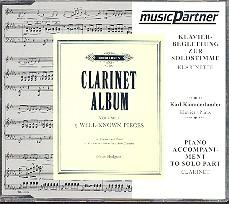 Clarinet Album volume 1 5 well known pieces für Klarinette, CD