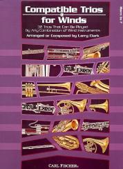 Clark, Larry: Compatible Trios for Winds for horn in F, score
