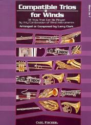 Clark, Larry: Compatible Trios for Winds: for horn in F, score