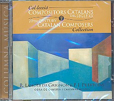 Collecció Compositors Catalans del Segle XX vol.2 CD