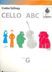 Colour Strings Cello ABC Book G
