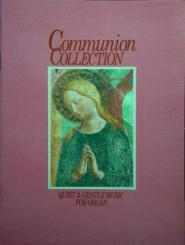 COMMUNION COLLECTION FOR ORGAN PINK BOOK, QUIET AND GENTLE MUSIC