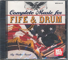 Complete Music for Fife and Drums CD