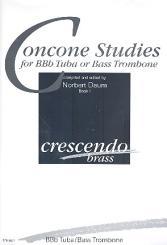 Concone Studies vol.1 for tuba (bass trombone)