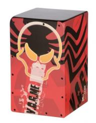 Cool Cajon Angry red Planet Size S (21x22x35cm)