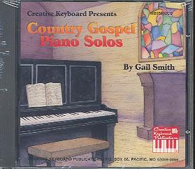 Country Gospel Piano Solos CD