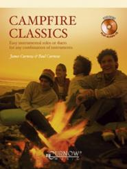 Curnow, James: Campfire Classics (+CD) for c instruments (Flute, oboe and others), Easy instrumental solos or duets for any combination
