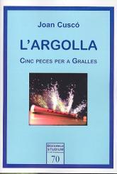 Cuscó, Joan: L'Argolla für 1-3 Dulziane und Pauken (Dulzian und Klavier), Spielpartitur