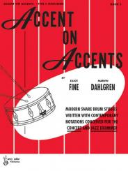 Dahlgren, Marvin: Accent on Accents vol.1: for snare drum