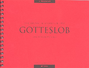 Das große Bläserbuch zum Gotteslob 2. Stimme in B (Trompete/Cornet/Flügelhorn/, Klarinette)
