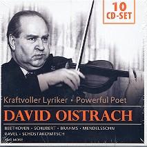 David Oistrach - Kraftvoller Lyriker 10 CD's