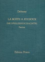 Debussy, Claude: La boite a joujoux ('Die Spielzeugschachtel') Ballett pour enfants