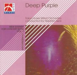 DEEP PURPLE -CD-  TOKYO KOSEI WIND ORCHESTRA PLAYS.., NEW SOUNDS FOR CONCERT BAND VOL.7