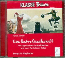 Denzel, Harald: Eine illustre Gesellschaft CD (Gesamtaufnahme und Playbacks)