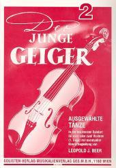 Der junge Geiger Band 2 für 2 Violinen