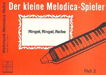 DER KLEINE MELODICA-SPIELER BAND 2 RINGEL RINGEL REIHE, LUEDERS, HANS, ED