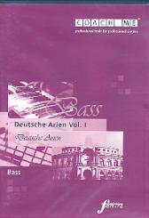 Deutsche Arien (Bass) Vol.1 CD mit Lern- und Begleitfassung