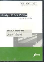 Diabelli, Anton: Sonatine 2 G-Dur op. 163,2 Jugendfreuden, Lern CD für Klavier