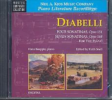 Diabelli, Anton: Sonatinen für Klavier CD