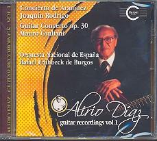 Diaz, Alrio: Guitar Recordings Vol.1 CD