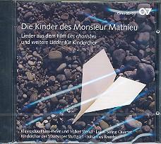 Die Kinder des Monsieur Mathieu - und weitere Lieder für Kinderchor CD