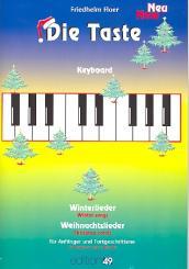 Die Taste - Winterlieder und Weihnachtslieder für Keyboard (Klavier)
