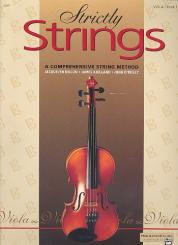 Dillon, Jacquelyn: Strictly Strings vol.1 for viola (en)