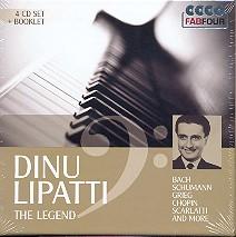 Dinu Lipatti - The Legend 4 CD's