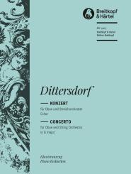 Ditters von Dittersdorf, Karl: Konzert G-Dur für Oboe und Streicher für Oboe und Klavier