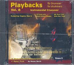 Doerk, Haymo: Playbacks for Drummer vol.8 CD Instrumental Crossover