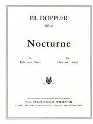 Doppler, Albert Franz: Nocturne op.17 für Flöte und Klavier