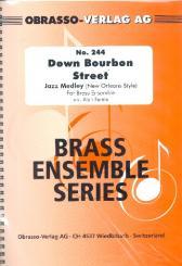 Down Bourbon Street: für Brass Ensemble, Partitur und Stimmen