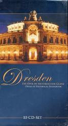 Dresden - Die Oper in historischem Glanz 10 CD-Box (Booklet dt/en)