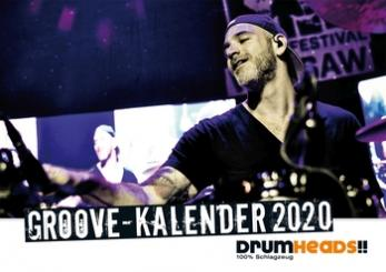 Drumheads Groove Kalender 2020 Wochenkalender 15 x 21 cm