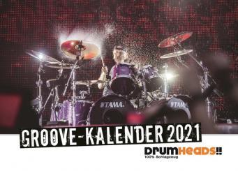 Drumheads Groove Kalender 2021 Wochenkalender 15 x 21 cm