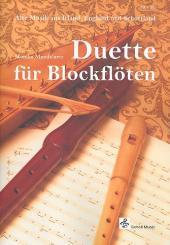 Duette für Blockflöten (wechselnde Besetzung), Spielpartitur