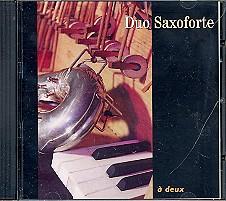 Duo Saxoforte - A deux CD
