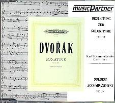 Dvorák, Antonín: Sonatine op.100 für Violine und Klavier CD mit der Begleitung zur Solostimme