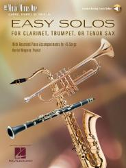 Easy Clarinet Solos vol.1 (+CD) for clarinet and piano